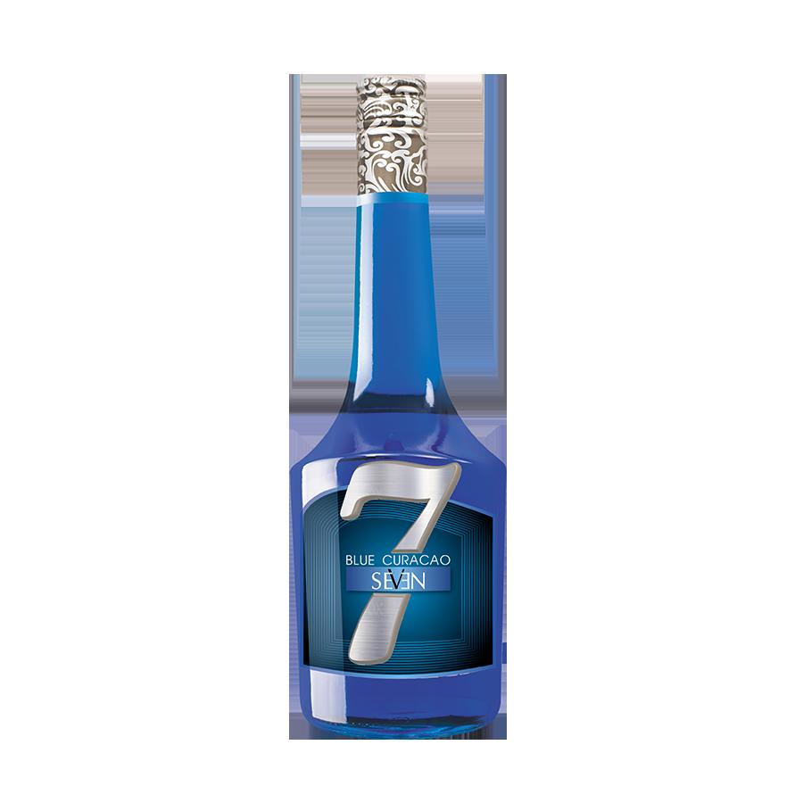 Liqueur Seven Blue Curacao