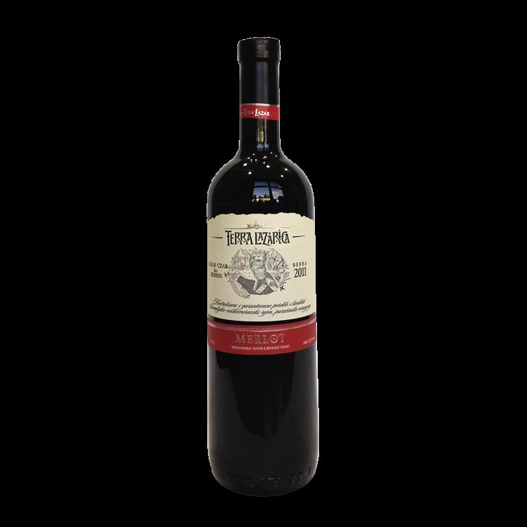 Terra Lazarica MERLOT 梅洛红葡萄酒