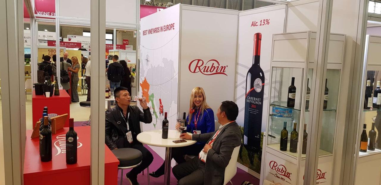 Rubin葡萄酒厂于上海