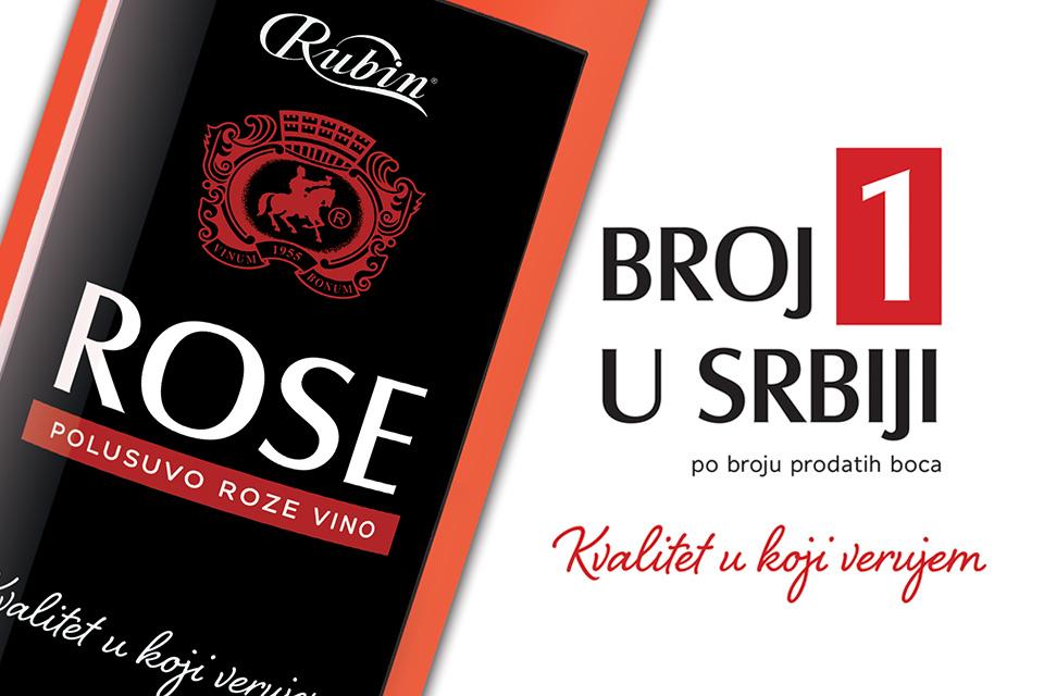 Zašto je RUBINOV ROSE BROJ JEDAN u Srbiji?